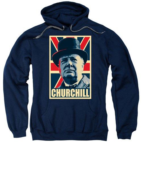 Winston Churchill Propaganda Sweatshirt