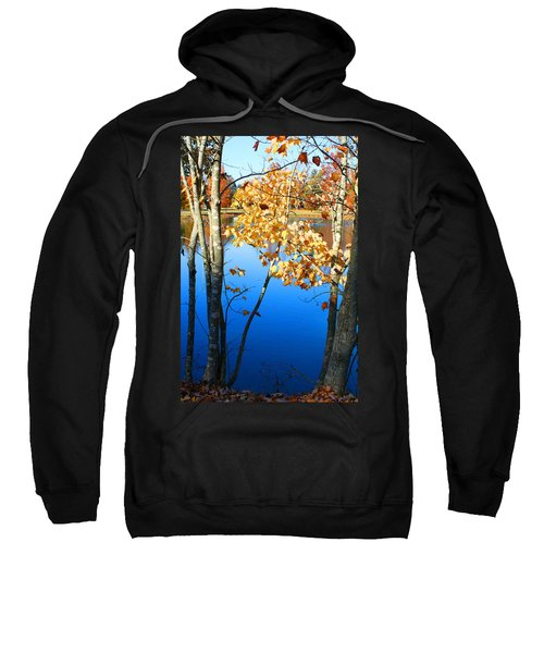 Autumn Trees On The Lake Sweatshirt