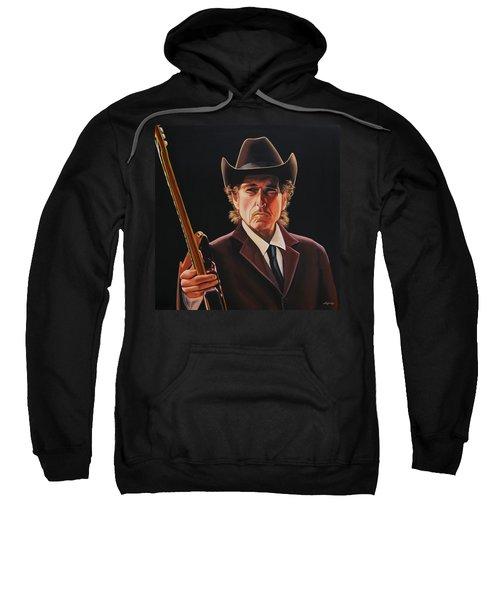 Bob Dylan 2 Sweatshirt by Paul Meijering