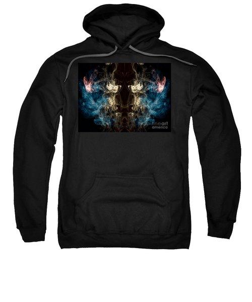 Minotaur Smoke Abstract Sweatshirt