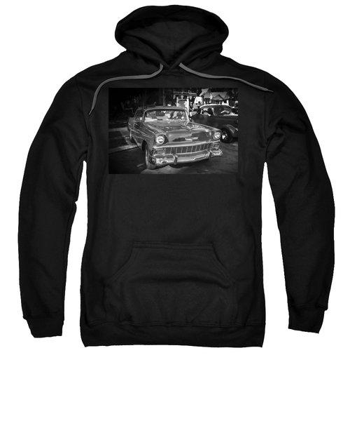1956 Chevrolet Bel Air 210 Bw Sweatshirt