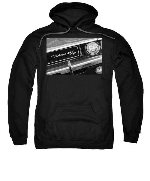 1970 Dodge Challenger Rt Convertible Grille Emblem Sweatshirt