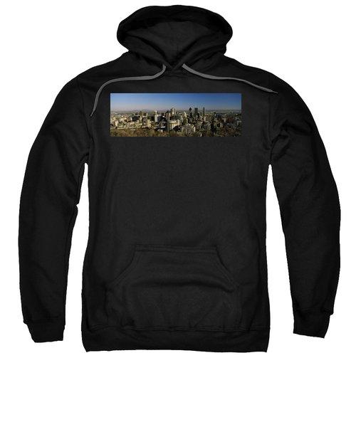 Aerial View Of Skyscrapers In A City Sweatshirt