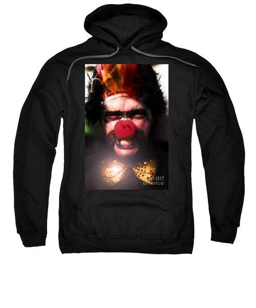 Angry The Clown Sweatshirt