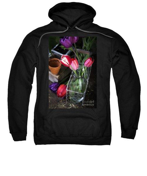 Beautiful Spring Tulips Sweatshirt