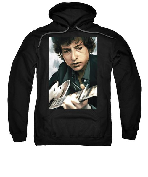 Bob Dylan Artwork Sweatshirt