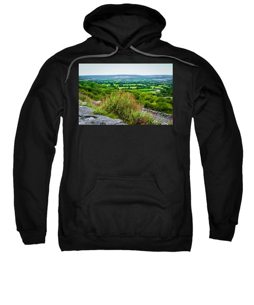 Sweatshirt featuring the photograph Burren National Park's Lovely Vistas by James Truett