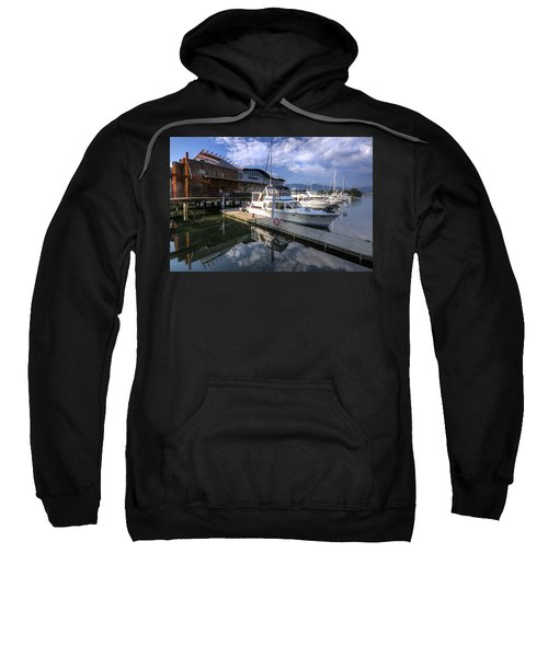 Sweatshirt featuring the photograph Carderos by Ross G Strachan