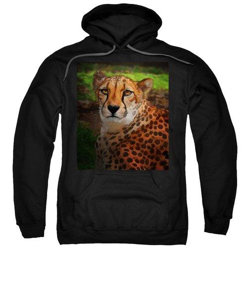 Cheetah Mama Sweatshirt