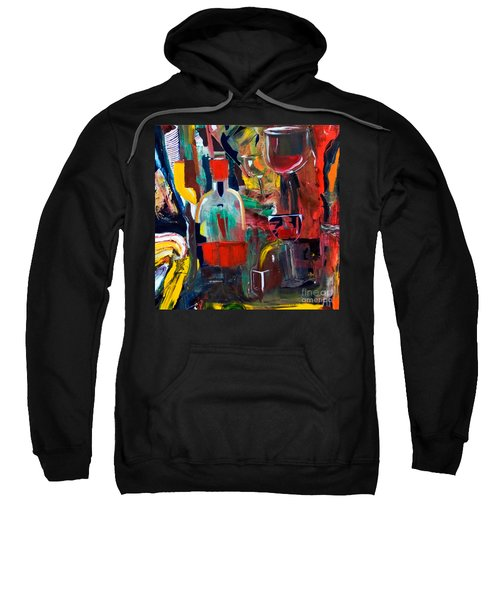 Cut IIi Wine Woman And Music Sweatshirt