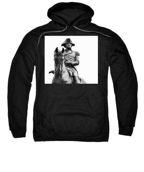 George Washington Statue Boston Ma Sweatshirt