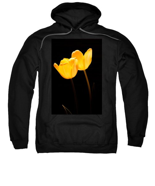 Glowing Tulips II Sweatshirt