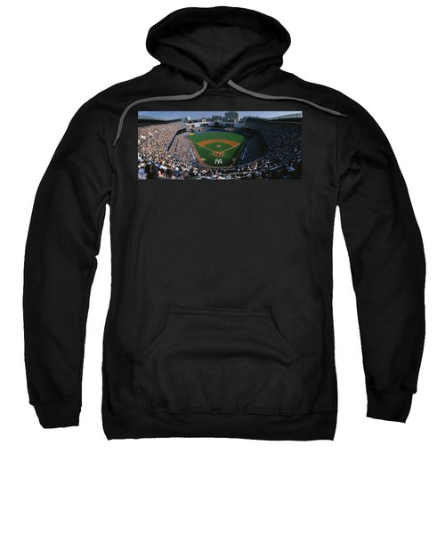 High Angle View Of A Baseball Stadium Sweatshirt
