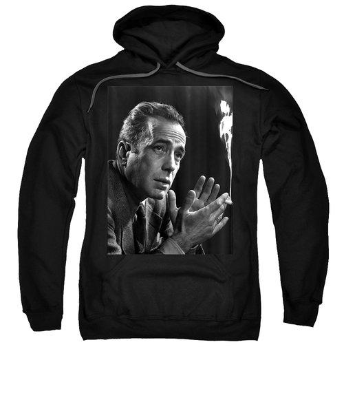 Humphrey Bogart Portrait 2 Karsh Photo Circa 1954-2014 Sweatshirt
