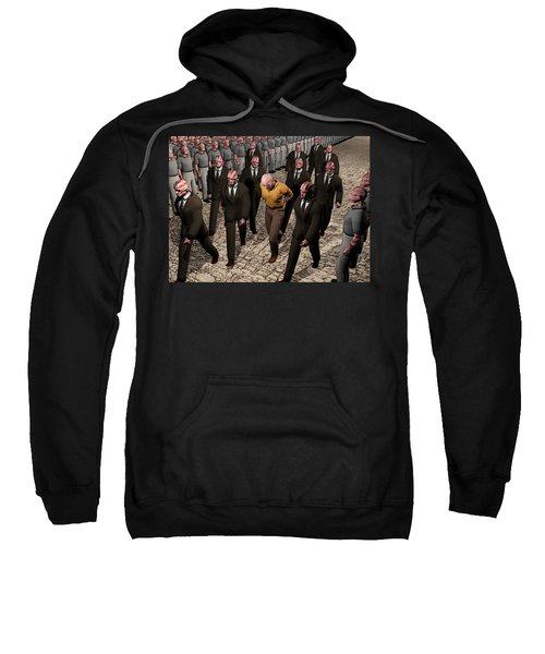 Last March Of The Non Conformist Sweatshirt