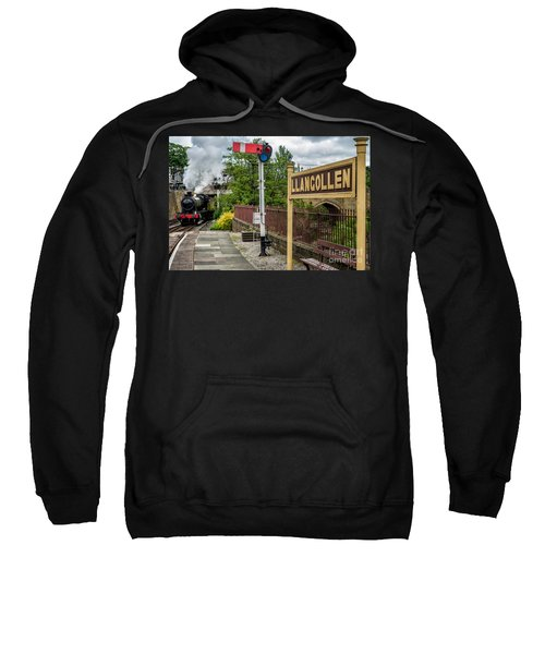 Llangollen Railway Station Sweatshirt