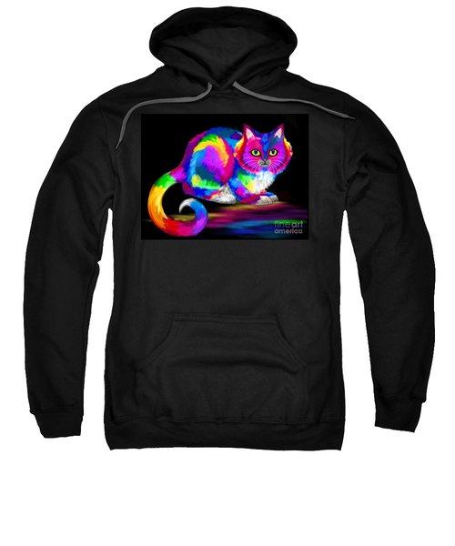 Painted Cat Sweatshirt