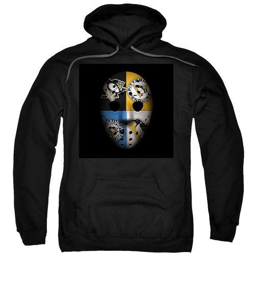 Penguins Goalie Mask Sweatshirt
