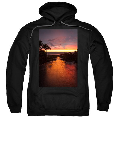 Sunset After Rain Sweatshirt