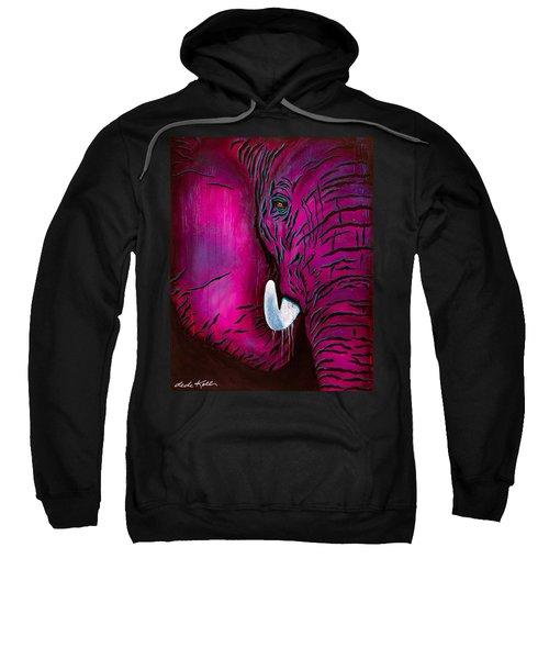 Seeing Pink Elephants Sweatshirt