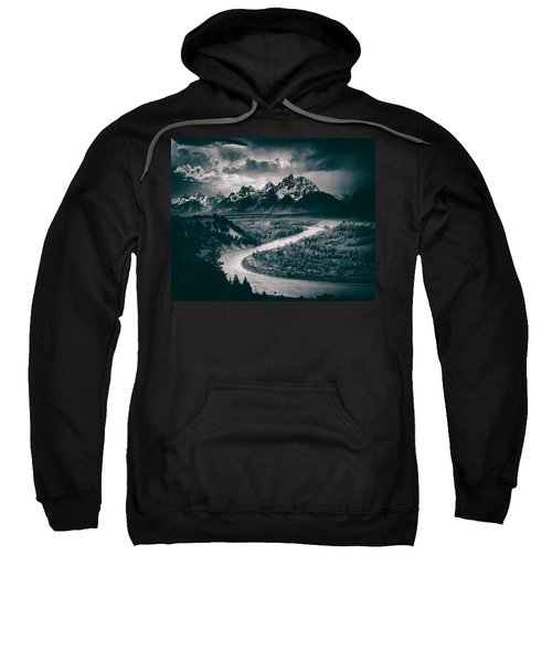 Snake River In The Tetons - 1930s Sweatshirt