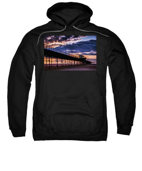 Southport Pier At Sunset Sweatshirt