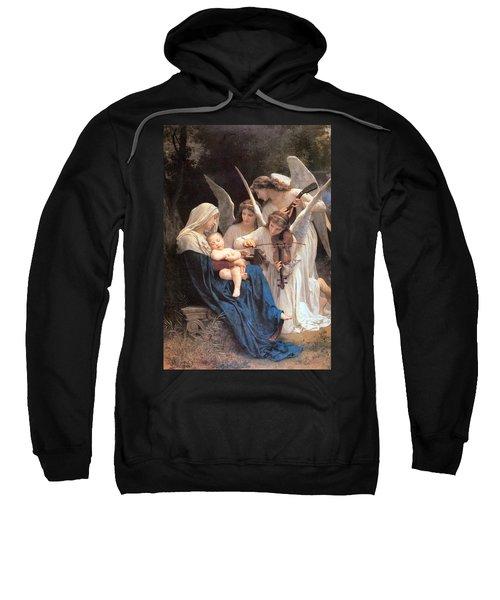 The Virgin With Angels Sweatshirt