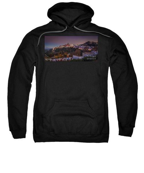 Vejer De La Frontera Panorama Cadiz Spain Sweatshirt
