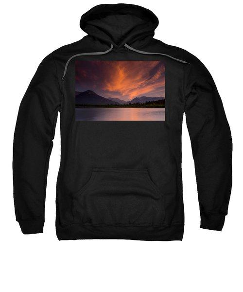 Vermillion Lakes Sunset Sweatshirt