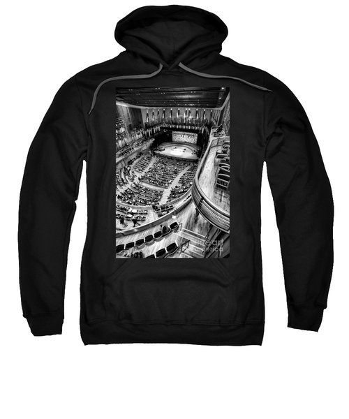 View From The Upper Balcony At Strathmore Music Center Sweatshirt