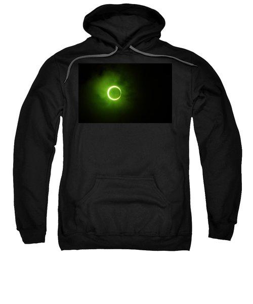 15 January 2010 Solar Eclipse Maldives Sweatshirt
