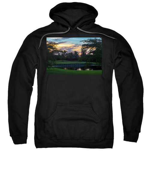 15th Green At Hollybrook Sweatshirt