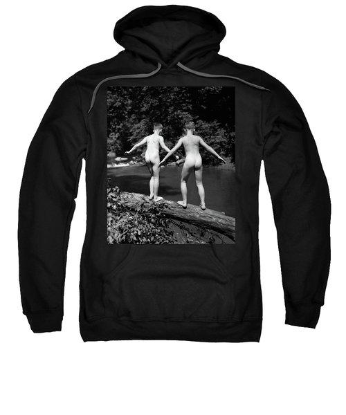 1930s Rear View Pair Naked Skinny- Sweatshirt
