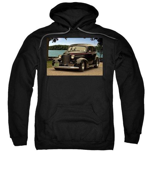 1937 Oldsmobile Custom Sedan Hot Rod Sweatshirt