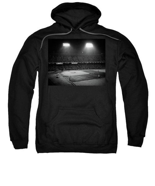 1940s 1947 Baseball Night Game Sweatshirt