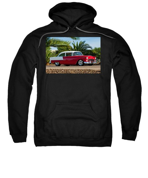 1955 Chevrolet 210 Sweatshirt