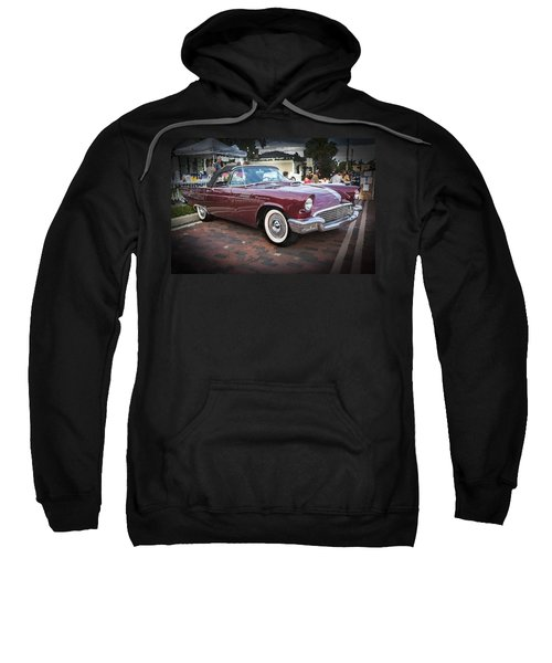 1957 Ford Thunderbird Convertible  Sweatshirt