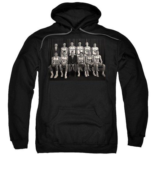 1960 University Of Michigan Basketball Team Photo Sweatshirt