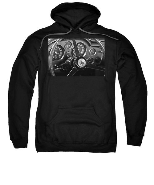 1968 Aston Martin Steering Wheel Emblem Sweatshirt