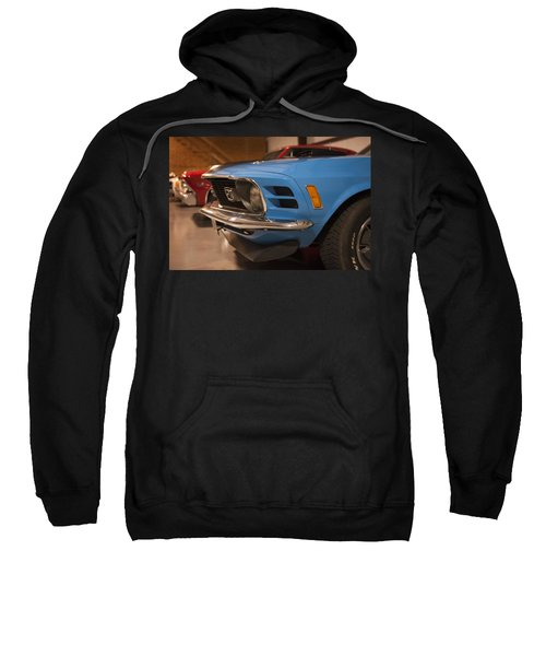 1970 Mustang Mach 1 And Other Classics Hidden In A Garage Sweatshirt