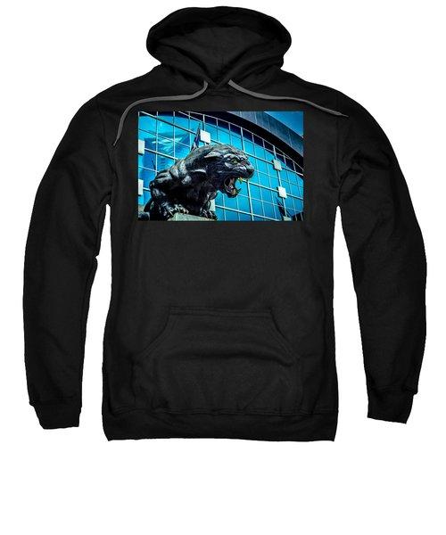 Black Panther Statue Sweatshirt