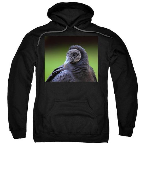 Black Vulture Portrait Sweatshirt