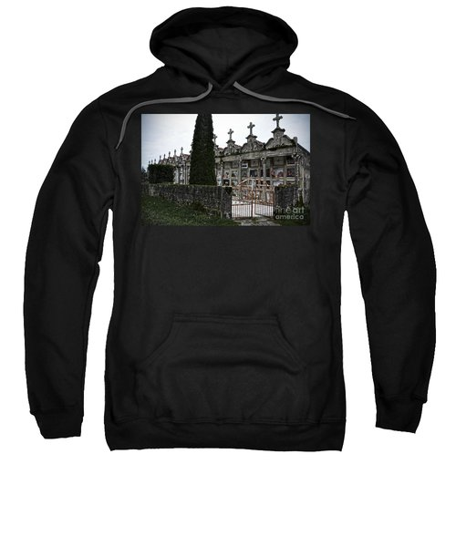 Cemetery In A Small Village In Galicia Sweatshirt