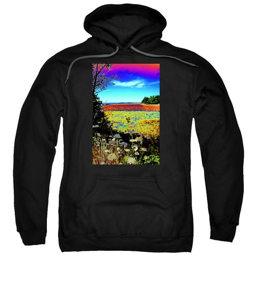 Coos Bay Wild Flowers Sweatshirt