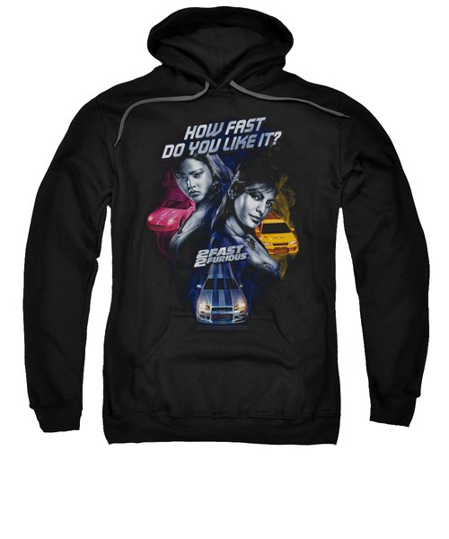 2 Fast 2 Furious - Fast Women Sweatshirt
