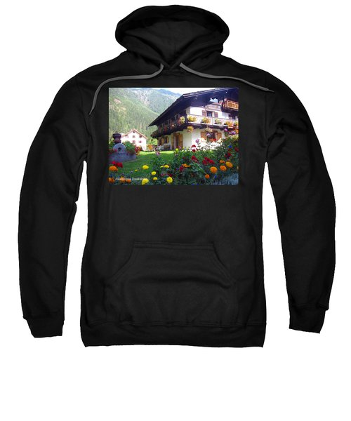 Flowery House Sweatshirt
