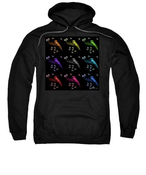 Hummingbird Pop Art - 2055 F M - Bb Sweatshirt