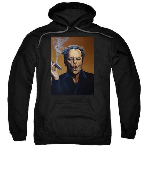 Jack Nicholson Painting Sweatshirt