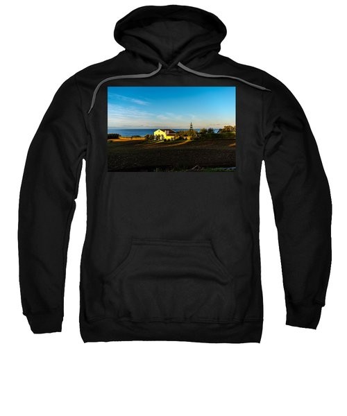 Sweatshirt featuring the photograph Light Of Warmth by Joseph Amaral