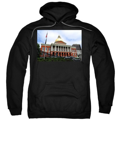 Massachusetts State House Boston Ma Sweatshirt
